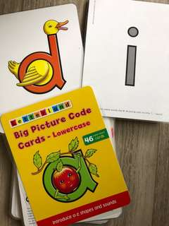Letterland big picture code cards