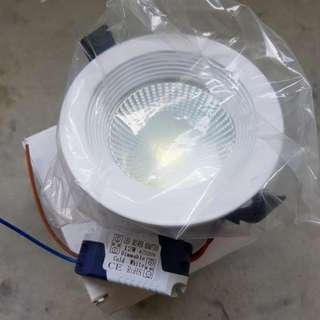12W COB downlight (dimmable, 6000K)