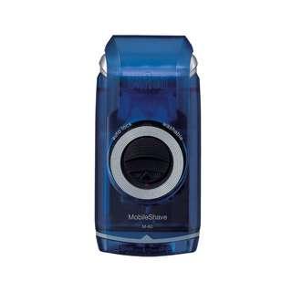 Braun MobileShave Pocket Battery Shaver M-60 blue