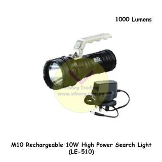 M10 Rechargeable 10W High Power Search Light (LE-510)