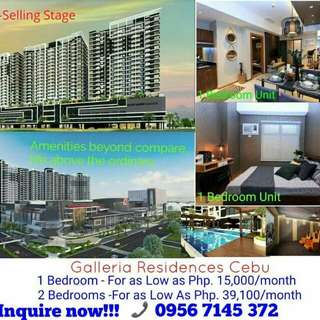 Galleria Residences Cebu Pre-Selling