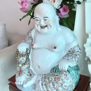 Fine Porcelain Matrieya Buddha