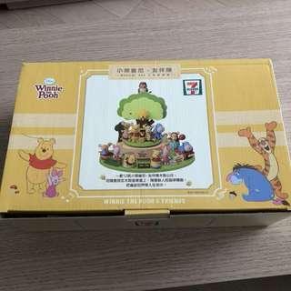7-11 小熊維尼 Winnie the Poon 音樂盒
