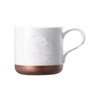 (現貨)🇰🇷Starbucks Korea 2018 Marble White Mug 355ml 星巴克韓國白色雲石杯