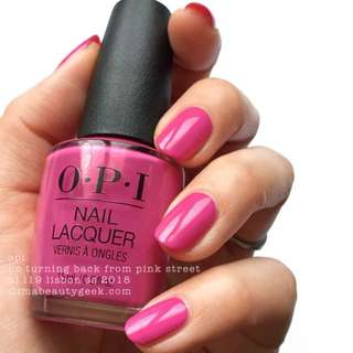 BN OPI L19 No turning back on Pink Street
