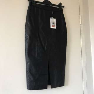 Bardot - Lara PU skirt
