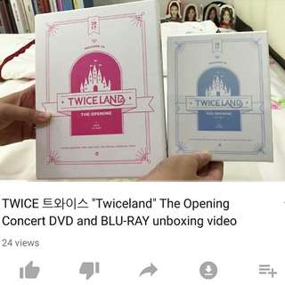Twiceland unboxing
