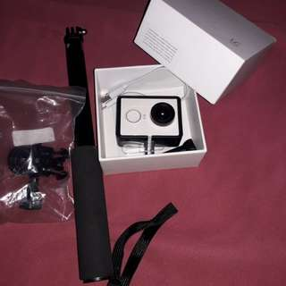 Xiaomi Yi Action Camera free Monopod+Card 16GB+Case