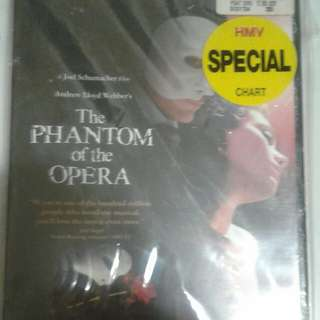 The phantom of opera DVD