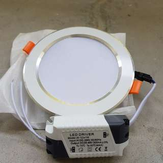 12W Tri-colour LED Downlight (non-remote type)