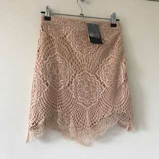 Bardot junior - lace skirt