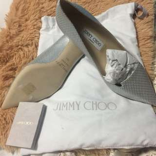 Im selling preloved jimmy choo silver size 38! still new!