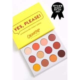 ✨ INSTOCK SALE: COLOURPOP YES PLEASE! Eyeshadow Palette