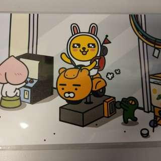 Kakao friends postcard