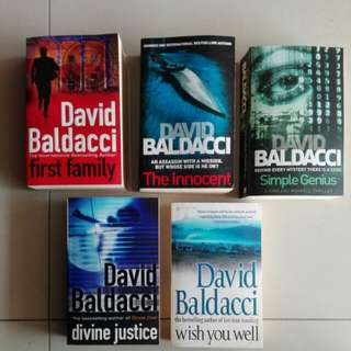 David Baldacci Pack
