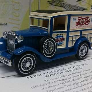 百事可樂古典福特貨車