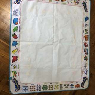 Aquadoodle mat in French