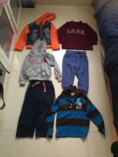 Winter ski boy clothes 2-4 y