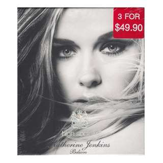 Katherine Jenkins: <Believe> (High Society CD) (Brand New)