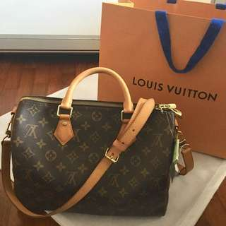 Louis Vuitton Speedy Bandouliere 30 (Monogram)