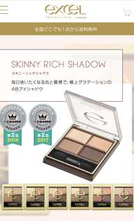 excel skinny rich eyeshadow 06