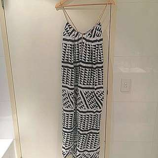 Sz 10 Witchery Maxi Dress