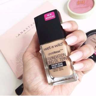 ✨ INSTOCK SALE: Wet N Wild Photo Focus™ Foundation