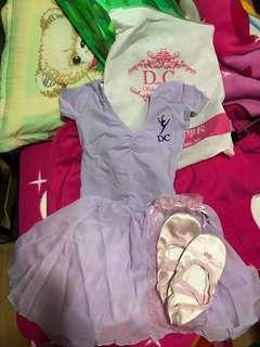 DC ballet 跳舞衫一套