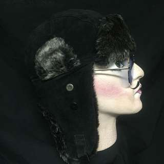STEAMPUNK WW/ AVIATOR STYLE HAT(RENTAL)