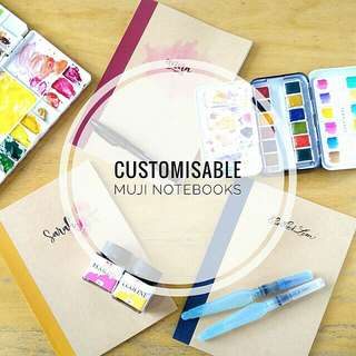 Customisable muji notebooks