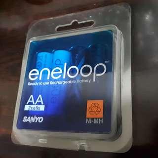 Sanyo Eneloop AA Ni-MH Battery Cells
