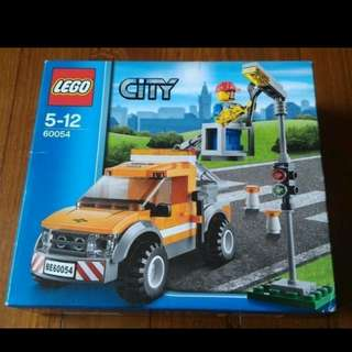 全新未開盒 Lego 60054 Light Repair Truck City 城市系列 (14年出產)