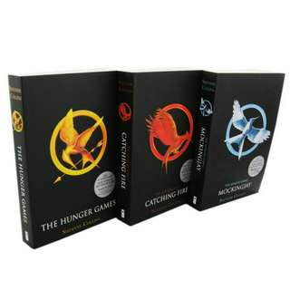 The Hunger Games (3-Book Set Pack)