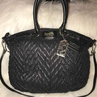 Authentic Coach madison quilted