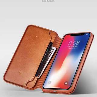 original xundd GRA smart leather case for apple iphone x/10