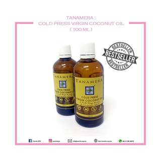 TANAMERA : COLD PRESS VIRGIN COCONUT OIL (VCO)