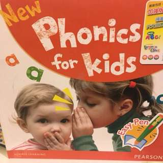 Pearson new phonics for kids