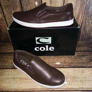 COLE MAN SHOES - DARK BROWN