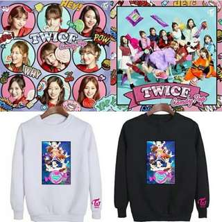 Preorder - TWICE Candy Pop Sweatshirt (size s-3xl) exc.pos