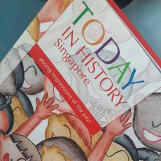 Preloved Today In History Singapore Book