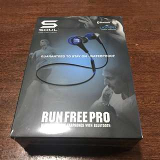 Soul Run Free Pro Headphones (Blue)