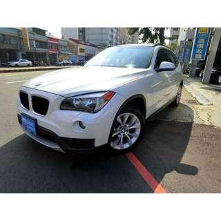 X1 BMW 總代理 2.0 13年型  里程一手 保證 認證 驗證