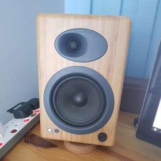 Audioengine a5+ Bamboo w/ D1 DAC