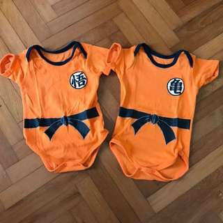 Authentic dragon ball bodysuit