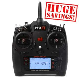 Spektrum DX8 TX only on Sale Now!! In Stock!!