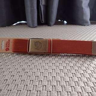 Fjallraven Canvas Brass Belt 4cm