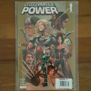 Ultimate Power : Complete 9-issue miniseries