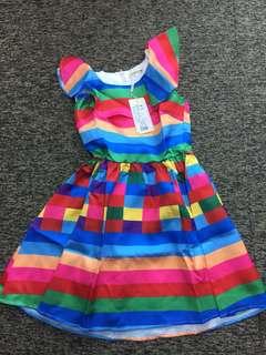Brand new - Rainbow dress