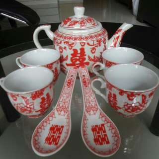Wedding Tea Set
