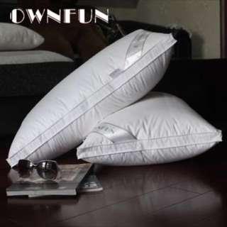 羽絨枕頭單個